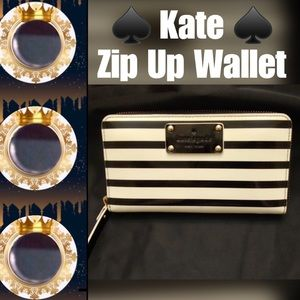 🍁FALL INTO🍁 💯Authentic Kate Spade ♠️ Zip Wallet
